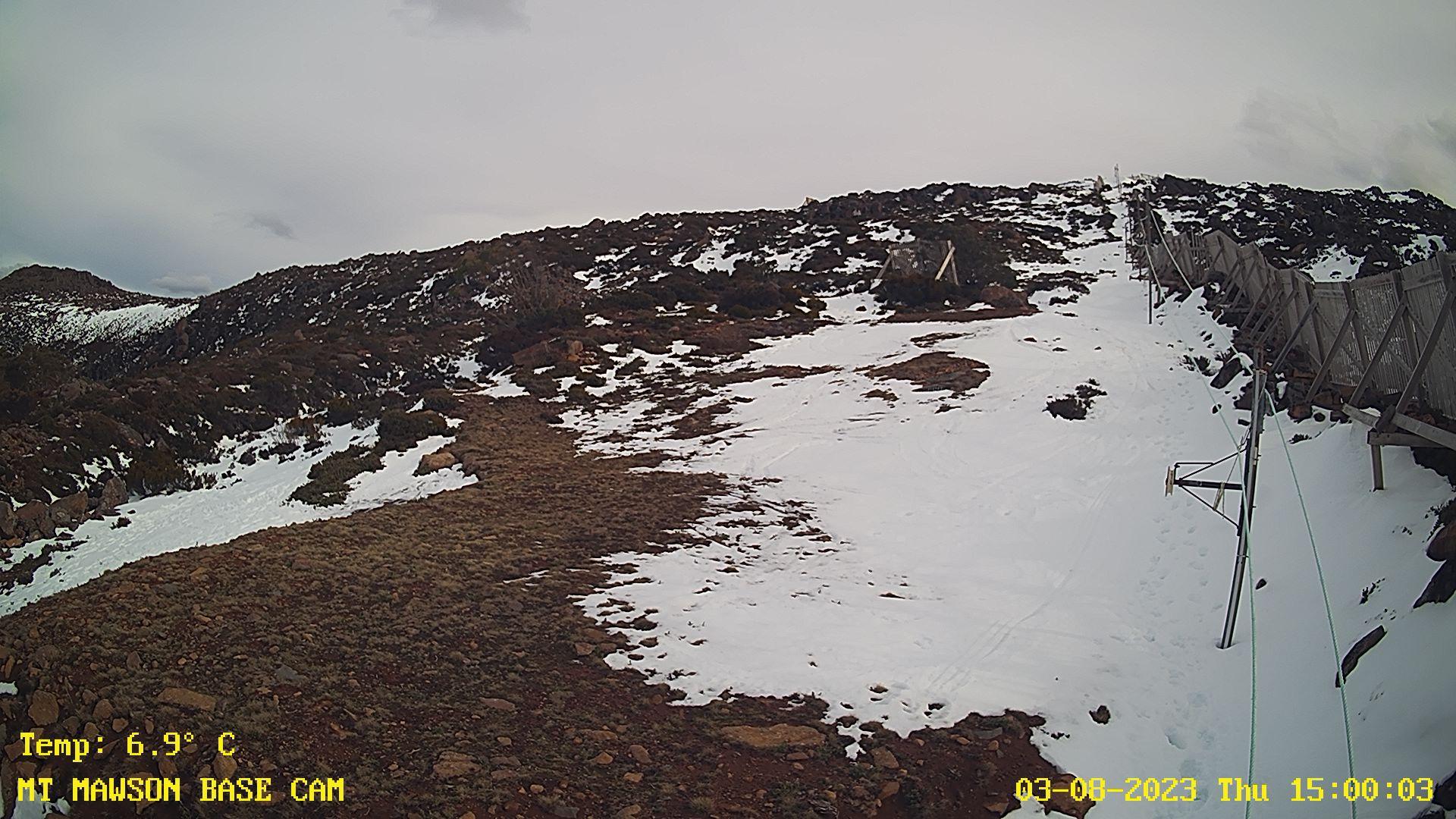 Mt Mawson Snow Cam