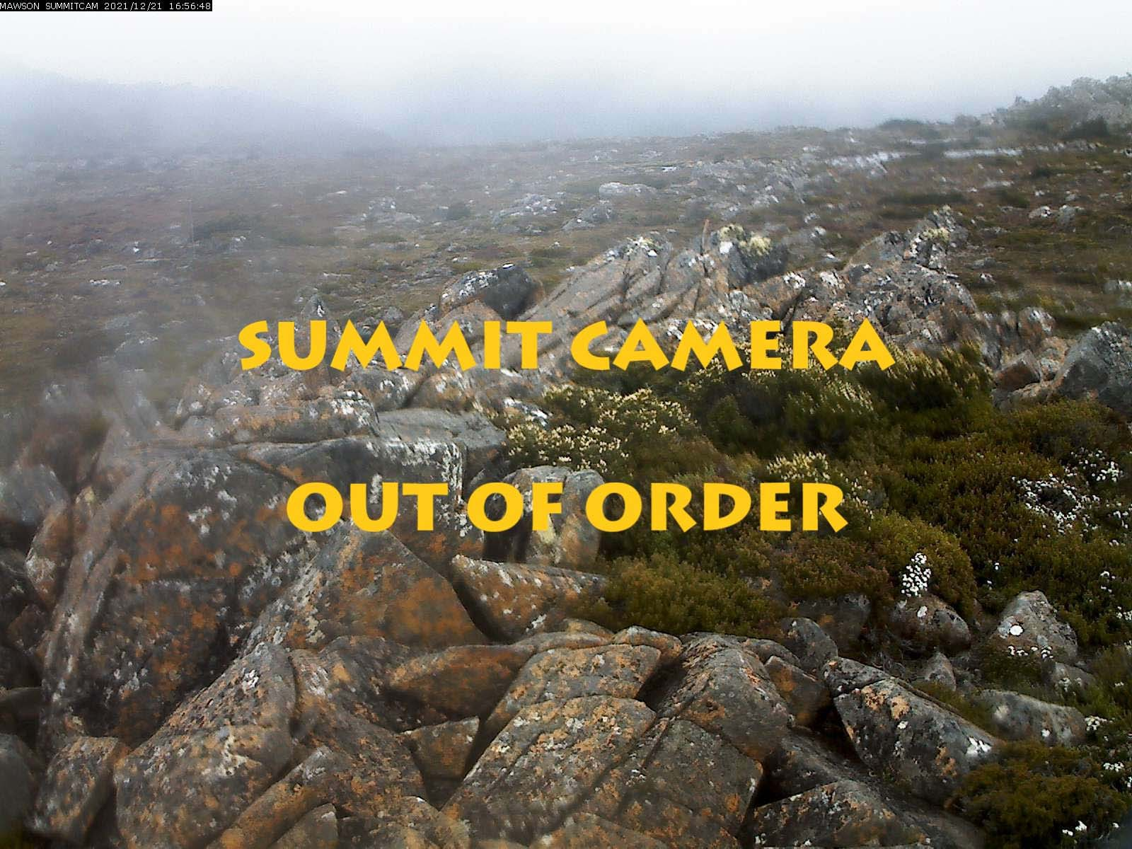 Tasmania - Mt Mawson - Summit Cam