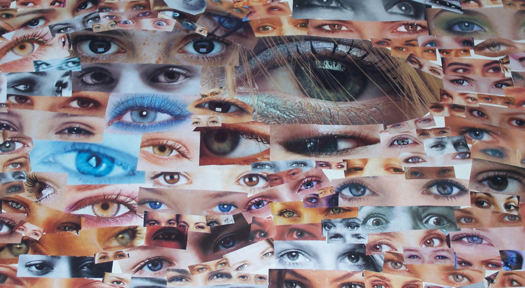 image of many eyes