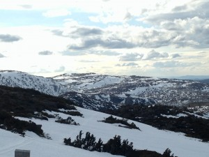 End of another great day in the TWWHA at Mt Mawson