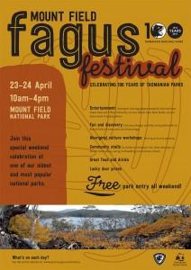 fagus festival poster image