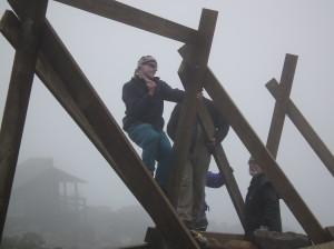 Stephen Webber -snow fence builder