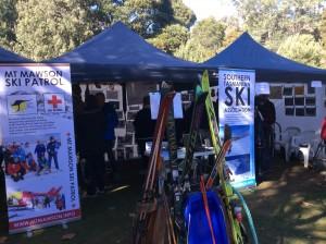 STSA display at Mt Field Centenary weekend, April 2016